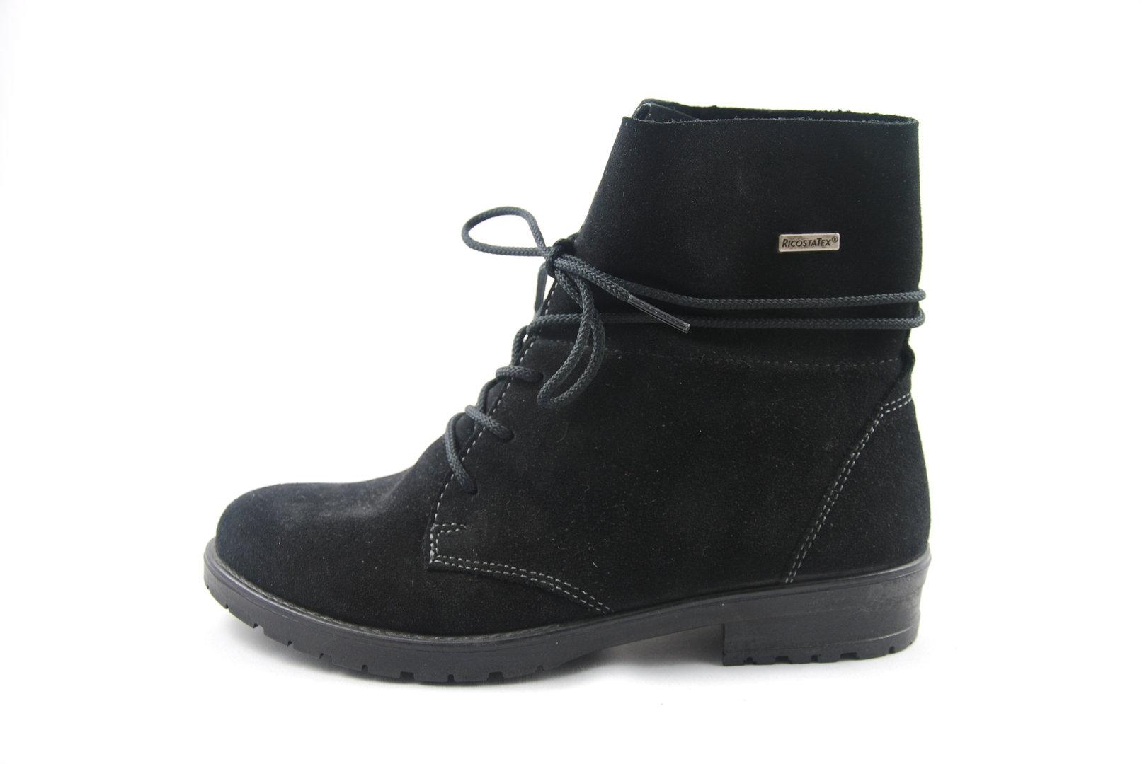 abgeholt Brandneu heiß-verkaufendes echtes Ricosta Stiefel Farah, schwarz